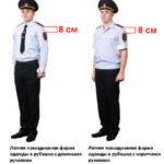 Как пришить шевроны и нашивки на форму полиции нового образца
